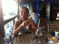 Sara in Genoa Italy