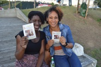 Lovely ladies supporting #Art4ChangeHaiti