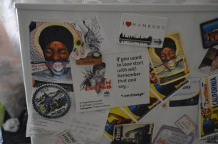 I AM ENOUGH: Affirmation from Project Embrace up on my fridge already :)