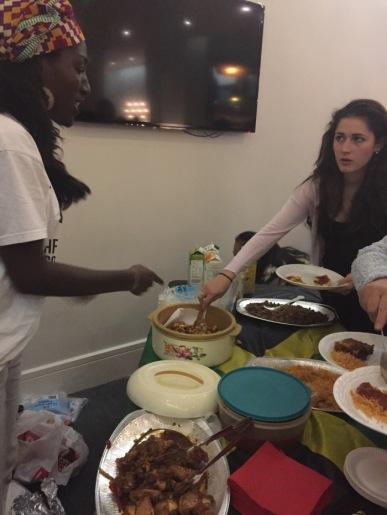 UAL ACS African food