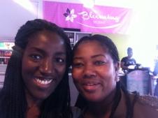 Selfie with founder Gina Moffatt