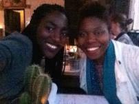 With musician Guylene Solon
