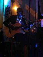 Musician Kyazi performing