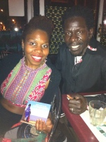 Kora love: musicians Guylene Solon and Abdoulaye Samb