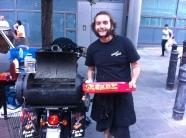 Leon, the Brazilian chef with big dreams