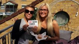 Their Soho Times: Thanks ladies