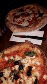 Neapolitan style pizza at Pizza Pilgrim