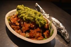 Chipotle salad bowl
