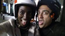 Funny face: with Simone owner of Pixxa
