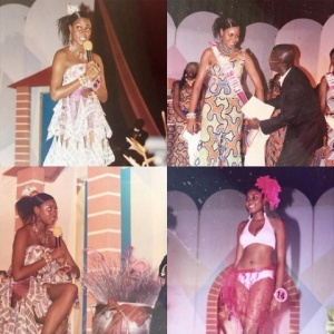 Yvonne Nelson 10 years ago participating in Miss Ghana www.naijagistngossips.com