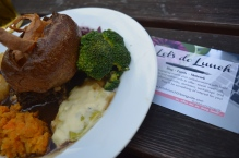 Sunday roast at The Kenton