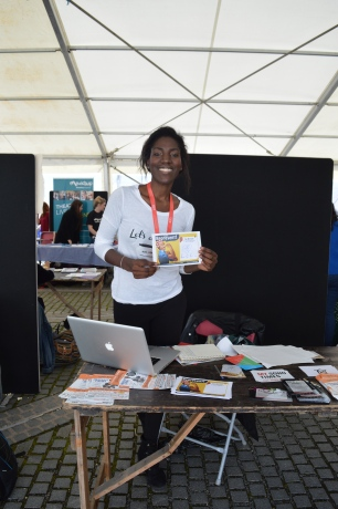 At SUARTS Freshers' Fair 2015