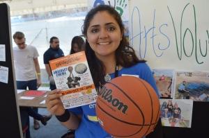 Freshers Fair Love & Basketball