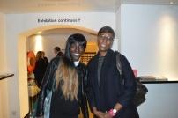 With filmmaker Dionne Walker