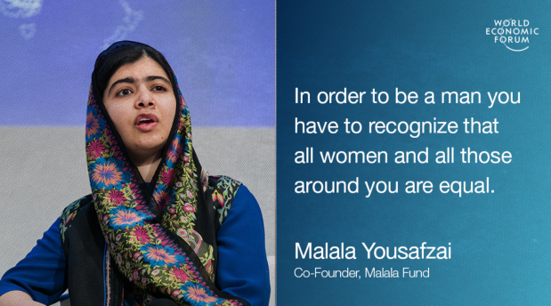 Malala Image World Economic Forum