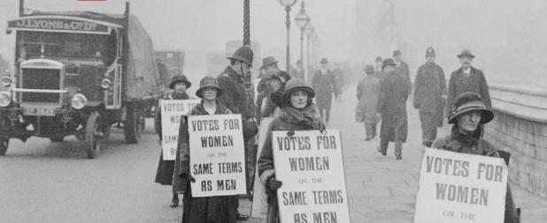 Women's vote 1918