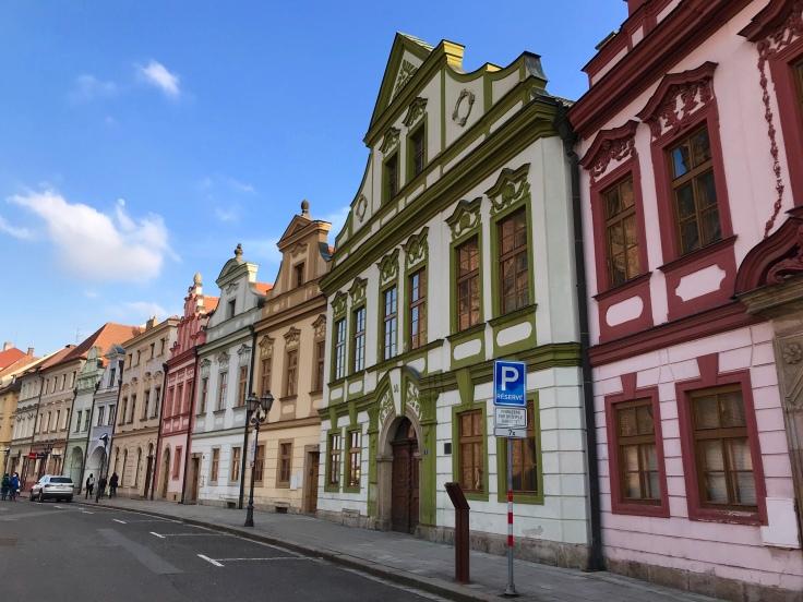 Hradec Králové Old Town street
