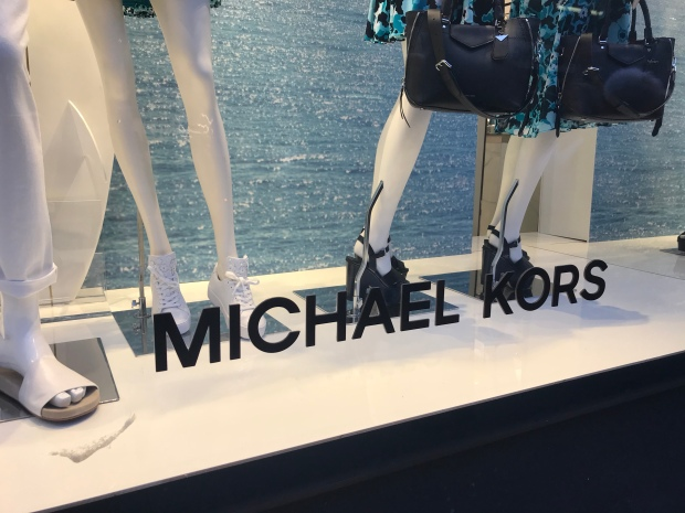 Let's do Lunch Michael Kors window